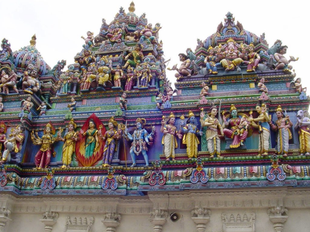 Statues in Hindu temples in Singapore