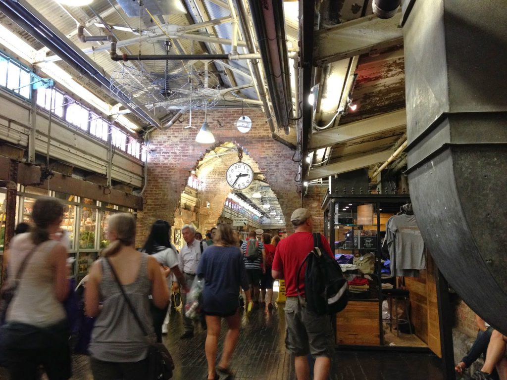 Chelsea Market, a great option for visiting New York with a toddler