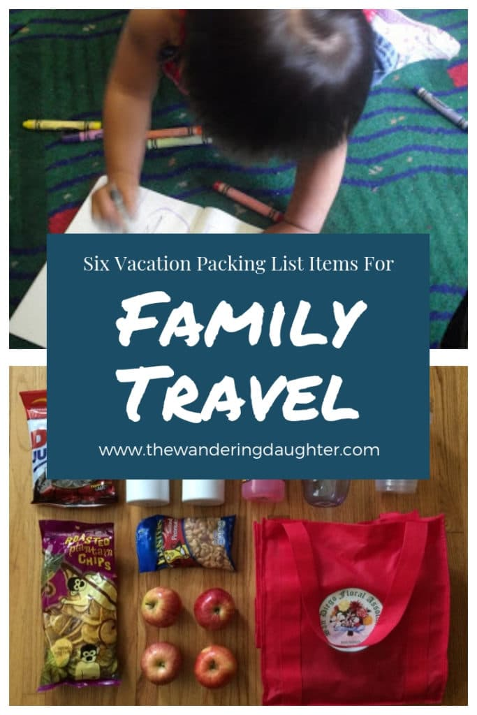 Six Vacation Packing List Items For Family Travel | The Wandering Daughter