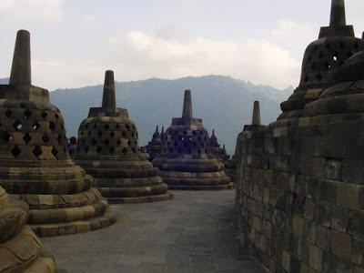 Borobudur Temple in Indonesia, a popular family vacation destination