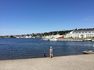 A view of South Lake Union in Seattle, one of the places for water activities in Seattle