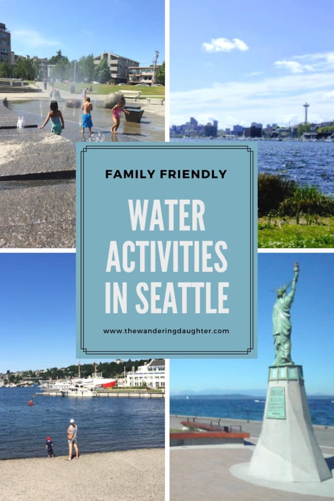 Family Friendly Water Activities In Seattle | The Wandering Daughter | Ideas for water activities in Seattle, WA, U.S.A. for families to do when they visit.