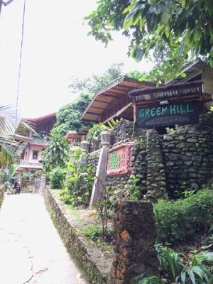 Our locally owned guest house in Sumatra