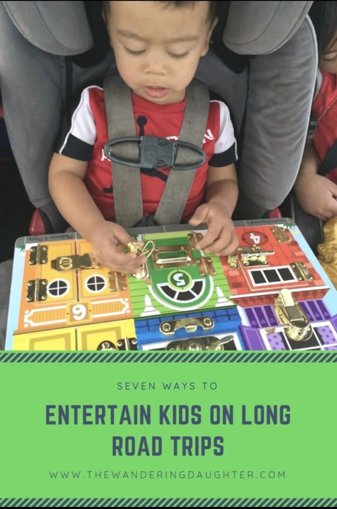 Seven Ways To Entertain Kids On Long Road Trips | The Wandering Daughter