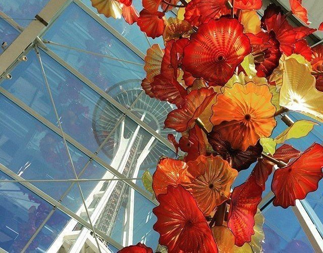 museum of glass at seattle center, one of many activities in Seattle for families