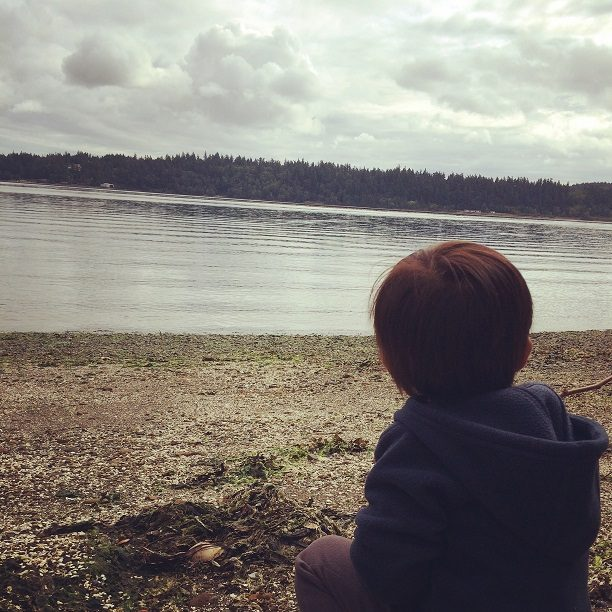 Camping with a toddler in Washington state