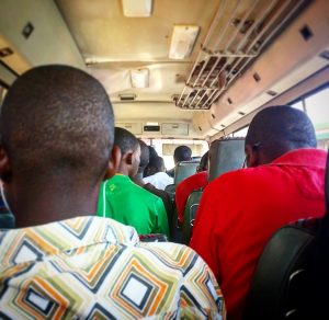 Riding the bus is one of the things to do in Lusaka