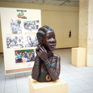 Seeing a bust in the National Museum is one of the things to do in Lusaka