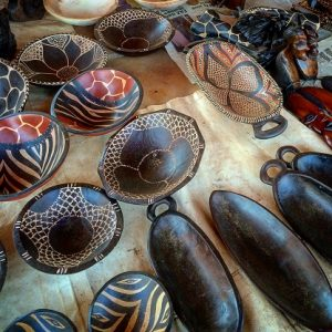 Handicrafts at Kabwata Cultural Village is one of the things to do in Lusaka