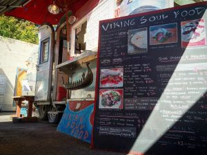Viking Soul Food cart in Portland, Oregon