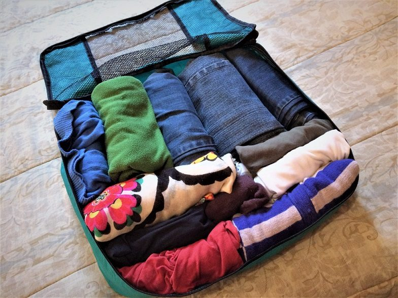Packing cubes, one of the must have travel items
