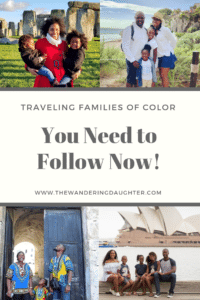 Traveling Families of Color - Black family travel blog