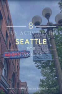 Eight fun activities in Seattle for families