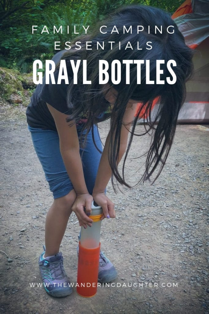 Family Camping Essentials: GRAYL Bottles | The Wandering Daughter