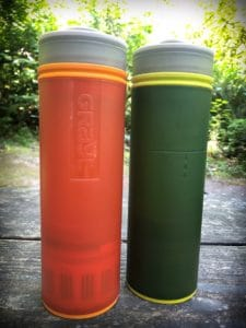 GRAYL water bottles with filters and purifiers, helpful for people to practice ethical family travel