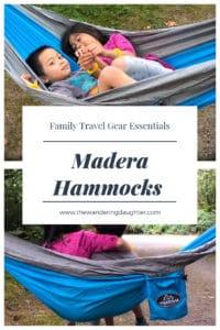 Family travel gear essentials, Madera Hammocks