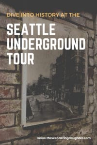 Dive in Seattle history at the underground tour