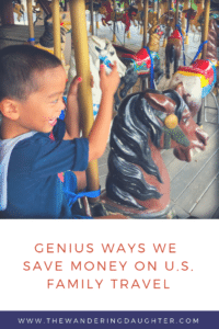 Genius ways we save money on US family travel