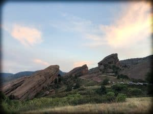Red Rocks in Colorado, where families can spend family quality time