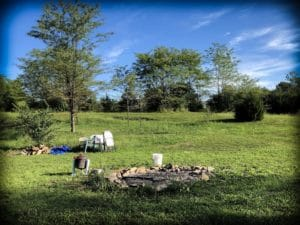 A campsite for Hipcamp, where families can save money on US family travel