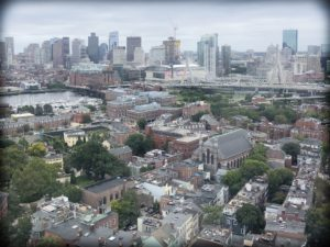 A view of Boston during American history family travel