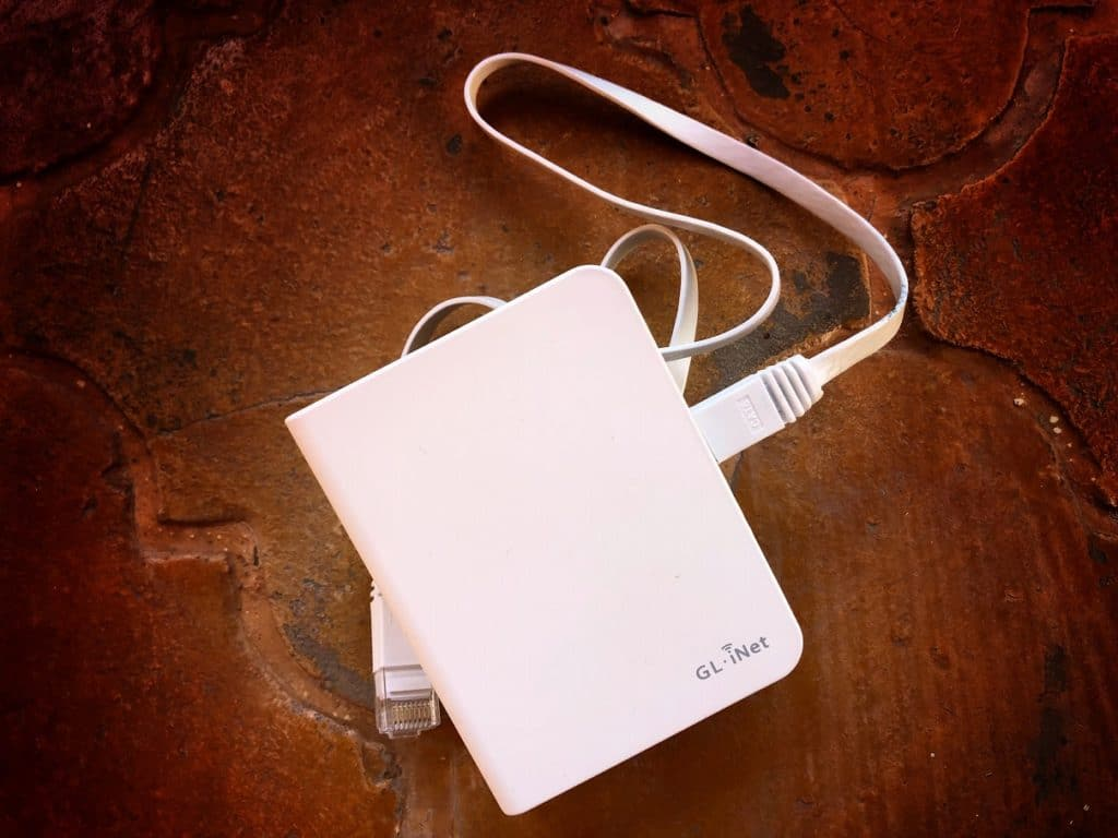 A portable router for making international WiFi easier