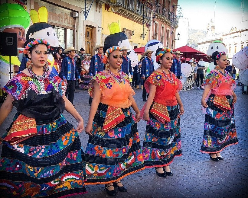 Celebrating Christmas holidays abroad in Guanajuato, Mexico