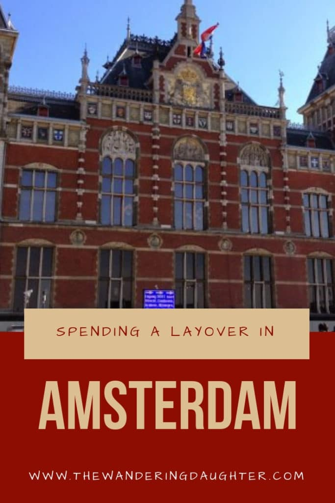 Spending A Layover in Amsterdam | The Wandering Daughter | How to spend a six hour layover in Amsterdam, Netherlands. Experiencing King's Day in Holland during a layover in Amsterdam. #layover #Amsterdam #travel #Europe #Netherlands #Holland
