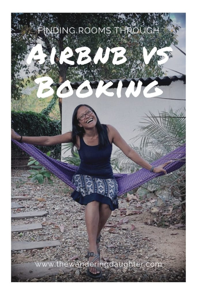 Finding Rooms Through Airbnb Vs Booking | The Wandering Daughter |  Pros and cons of Airbnb vs Booking when it comes to finding rooms for family travel #Airbnb #Booking #familytravel