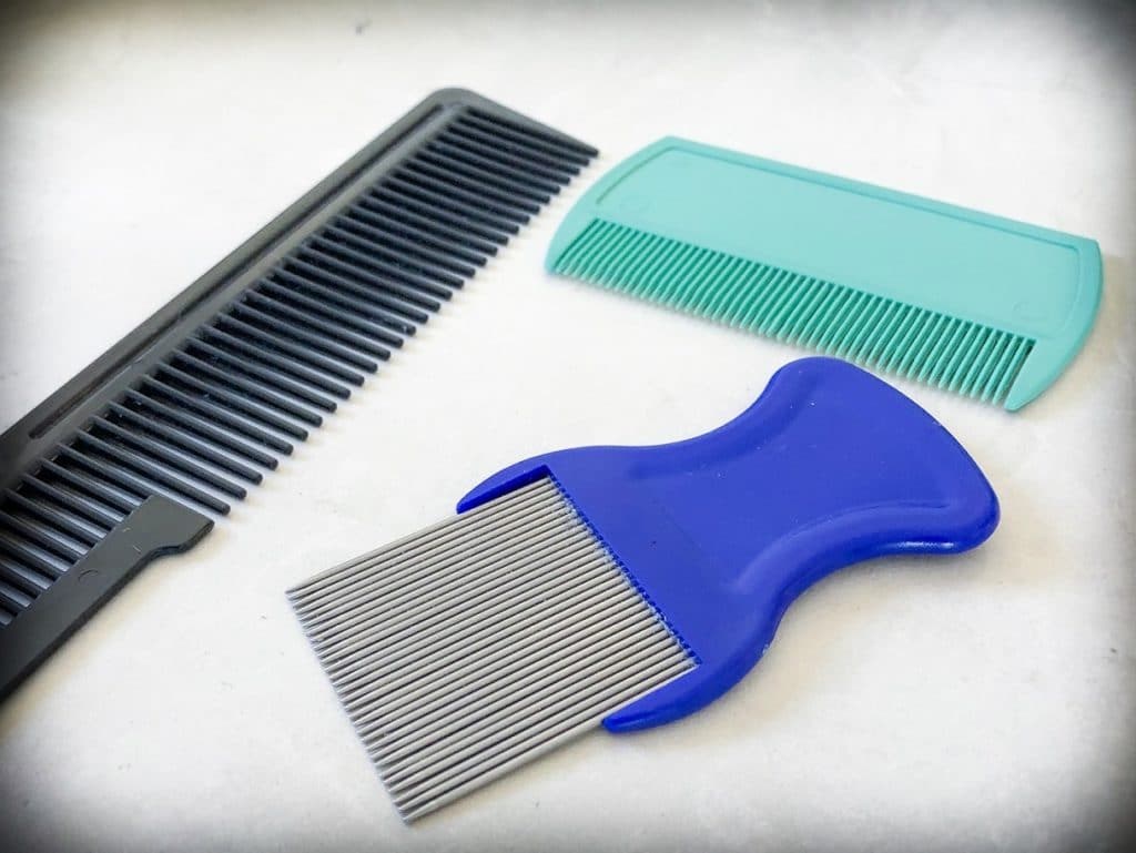 Tools for checking for lice