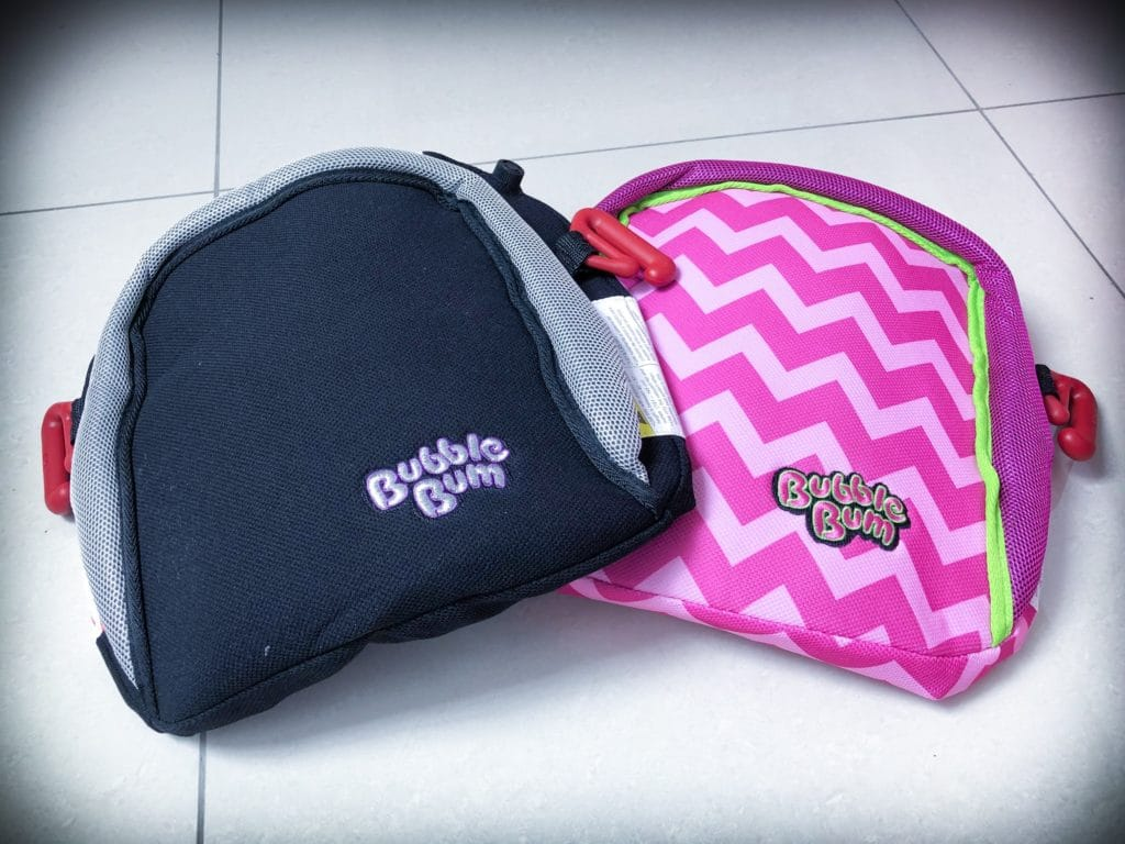 BubbleBum inflatable travel booster seat