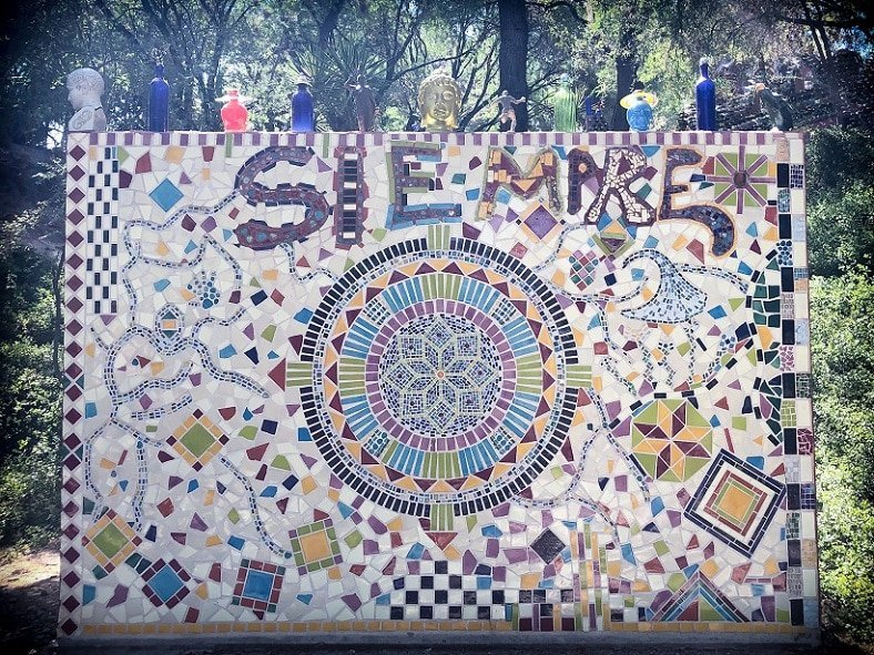 Experience San Miguel de Allende art at the Chapel of Jimmy Ray while living in San Miguel de Allende