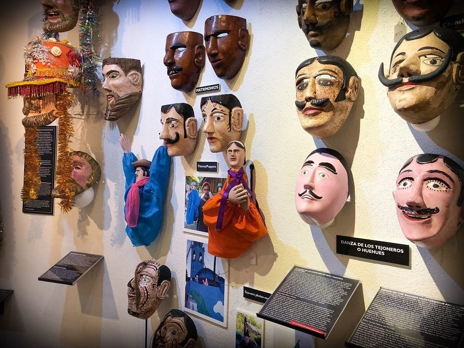 Experiencing the mask museum while living in San Miguel de Allende