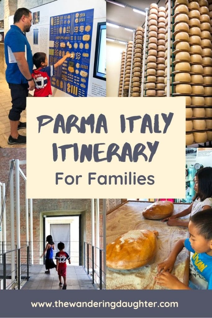 A Fun Parma Italy Itinerary For Families | The Wandering Daughter | Ideas for a Parma Italy itinerary, for families planning to visit the city of Parma in Italy. Family friendly things to do in Parma, Italy. #Parma #Italy #familytravel #visititaly