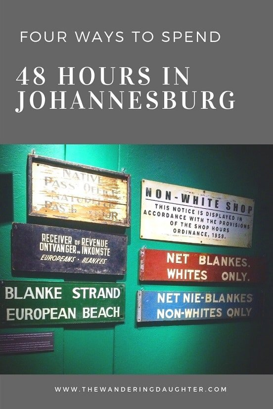 Four Ways To Spend 48 Hours In Johannesburg   The Wandering Daughter   Tips for experiencing Johannesburg, South Africa in 48 hours. #Africa #SouthAfrica #stopover