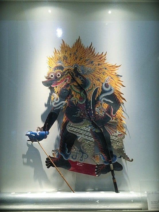 A puppet at the Wayang Museum, one of the attractions in Jakarta