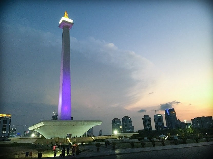 Monas, one of the attractions in Jakarta