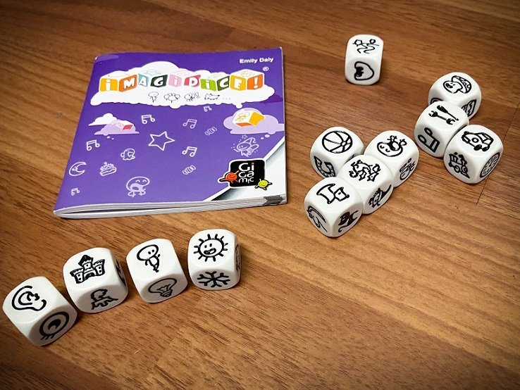 Story dice for game night and family bonding activities