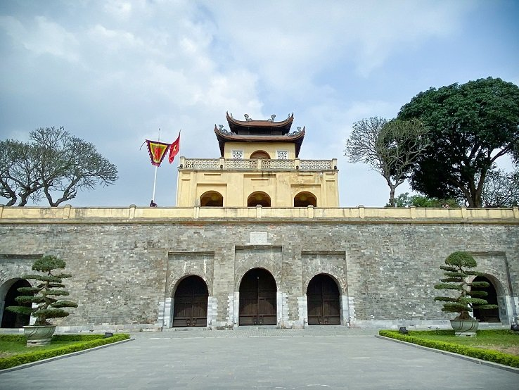 The Thang Long Citadel in Hanoi, Vietnam, a destination for slow tourism