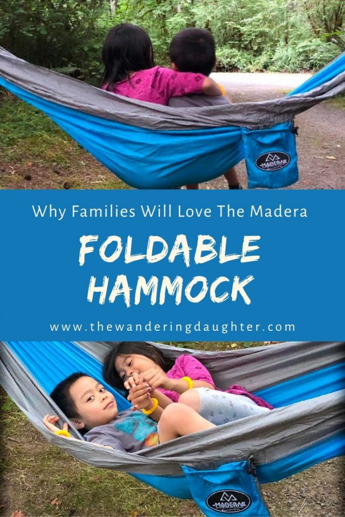 Why Families Will Love The Madera Foldable Hammock | The Wandering Daughter
