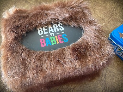 Travel card games for families: Bears Vs. Babies
