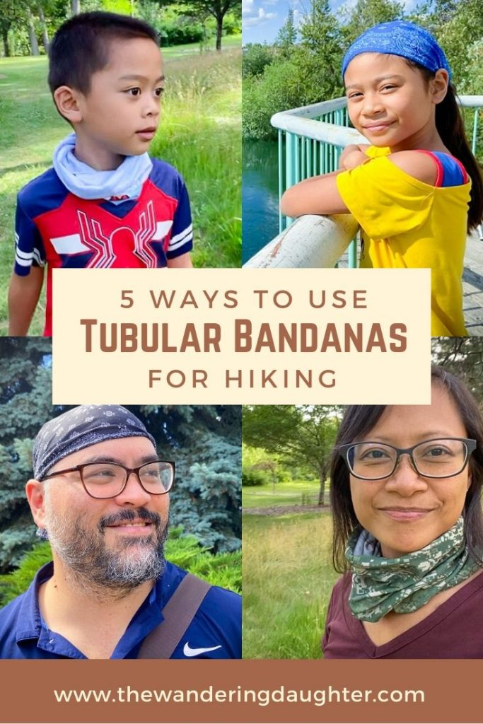 5 Ways To Use Tubular Bandanas For Hiking | The Wandering Daughter