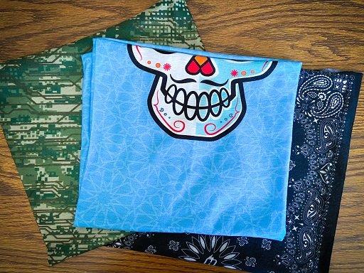 Tubular bandanas from Hoo-Rag